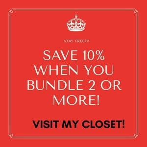 Other - Check out my closet! 15% off!